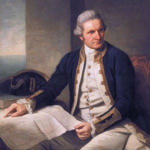 Cairns history - Captain James Cook