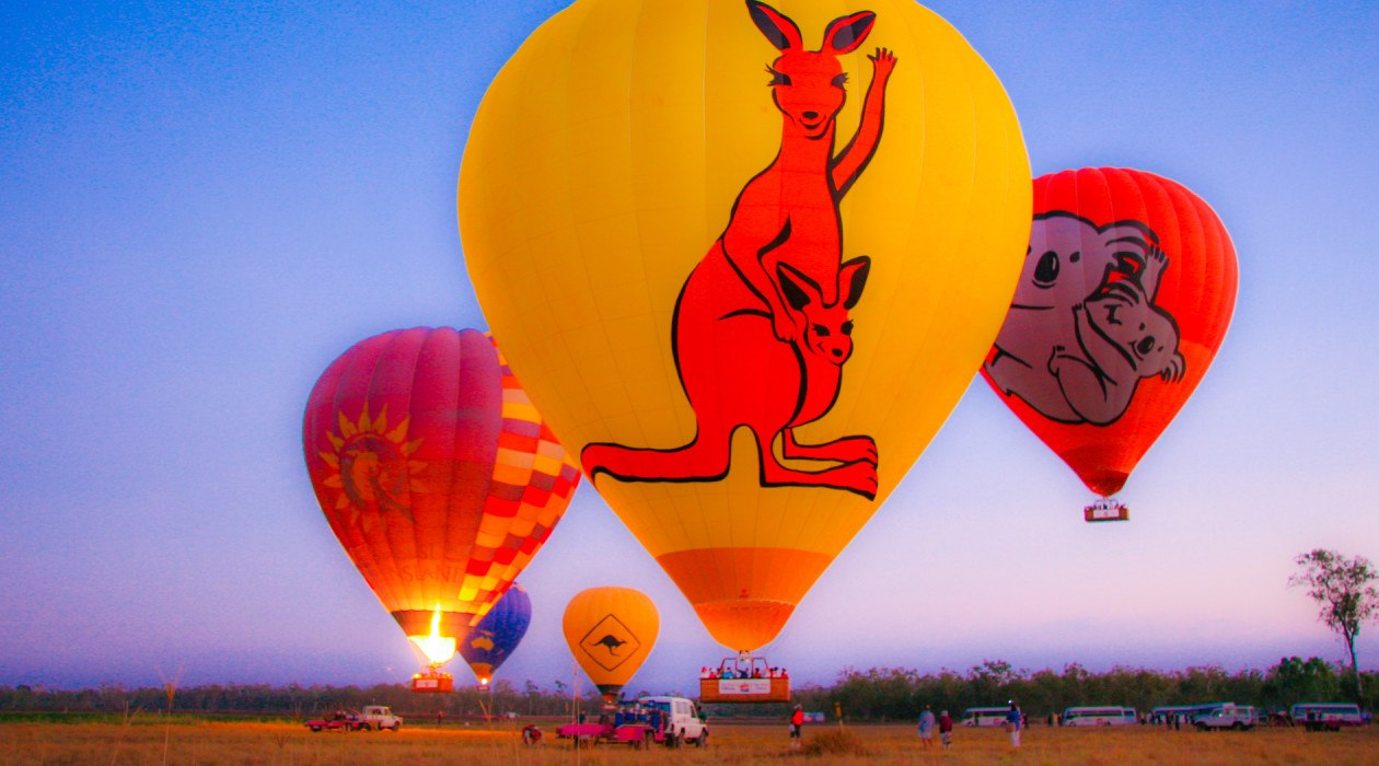 Hot Air Ballooning Cairns North Queensland
