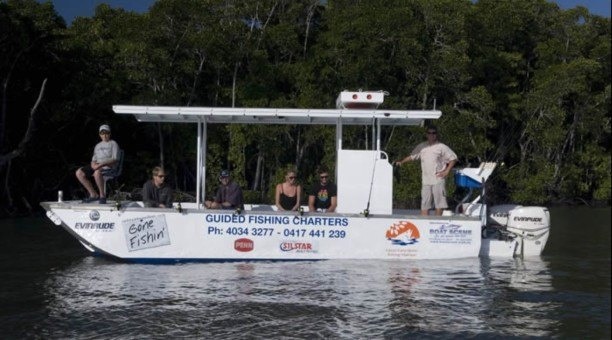 Large, stable and comfortable vessels, perfect for inlet fishing